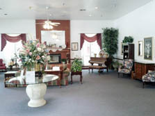 Carriage House Assisted Living Lobby