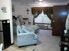 Carriage House Assisted Living of Denton Studio Apartment