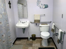 Carriage House Assisted Living of Denton Bathroom