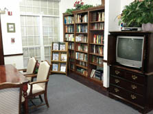 Carriage House Assisted Living Lobby Library