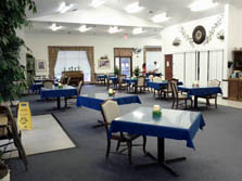 Carriage House Assisted Living of Denton Cafeteria